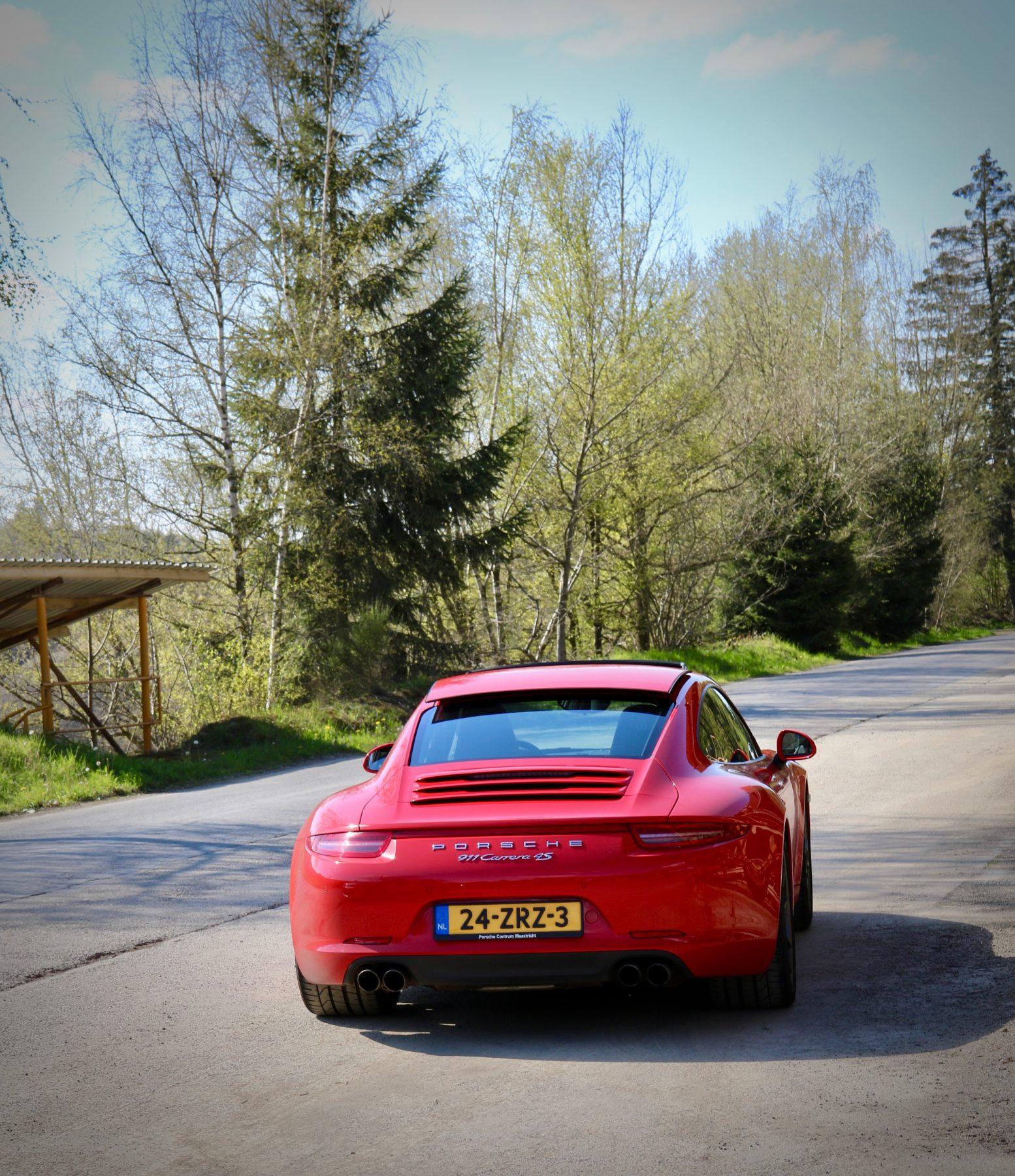 Porsche in autoreis Eifel ardennen van dolf dekking driving events