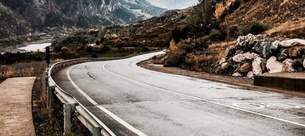weg in pyreneeën autoreis van dolf dekking driving events