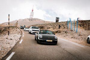 auto's op mont ventoux provence bij autoreis dolf dekking