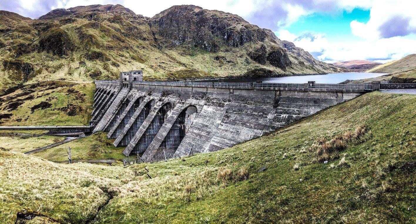 Dolf Dekking Schotland ben lawers dam
