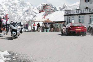 ferrari in Autoreis Dolomieten Dolf Dekking Driving Events
