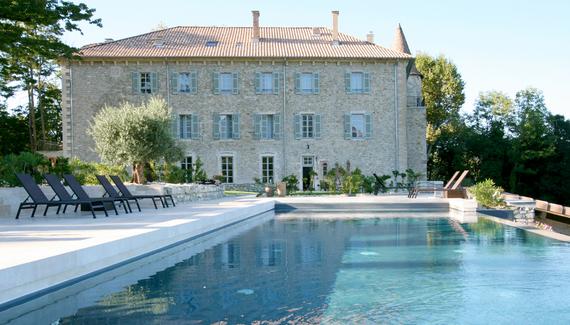chateau in provence bij autoreis zuid frankrijk dolf dekking driving events